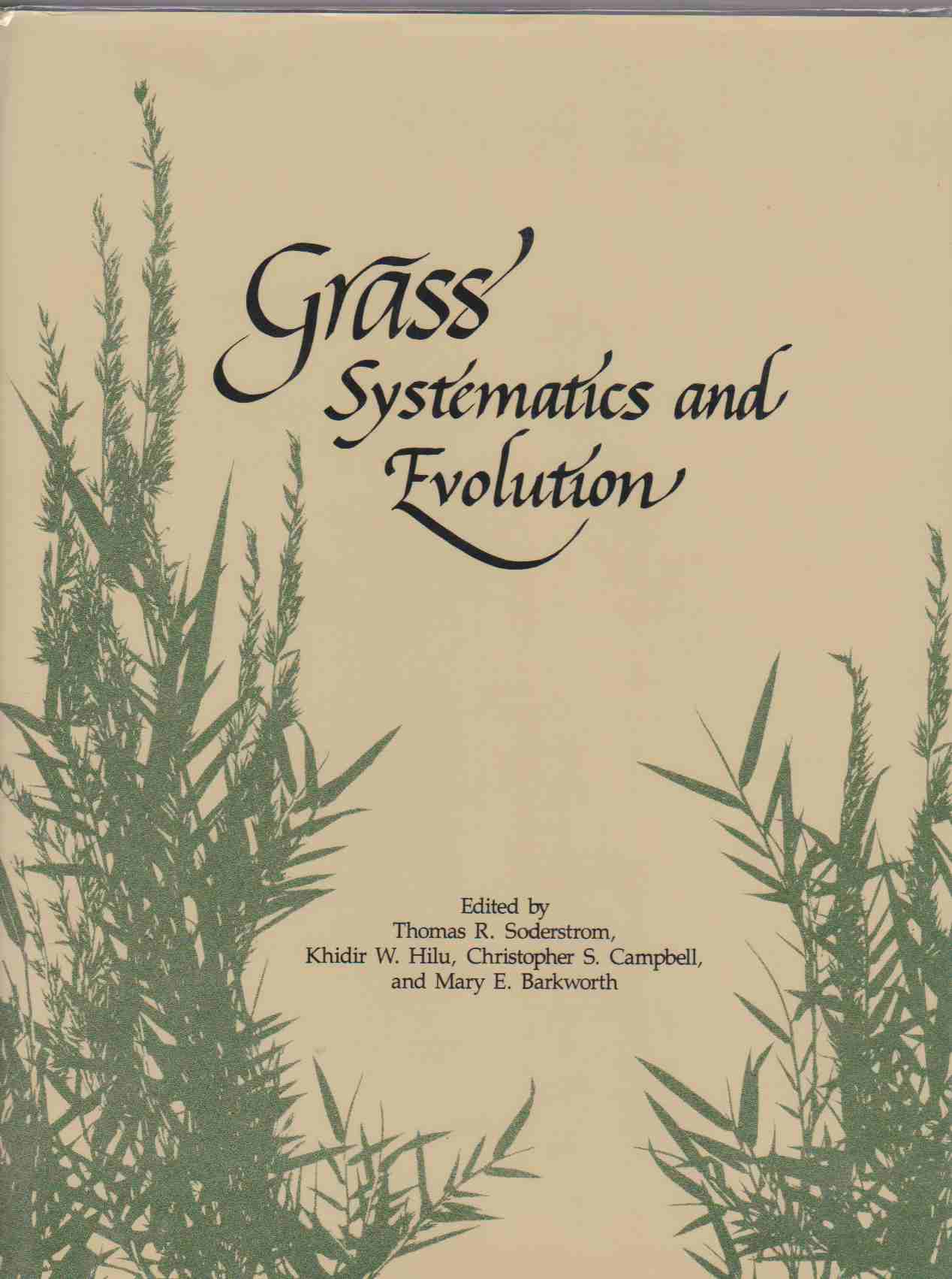 Image for GRASS Systematics and Evolution