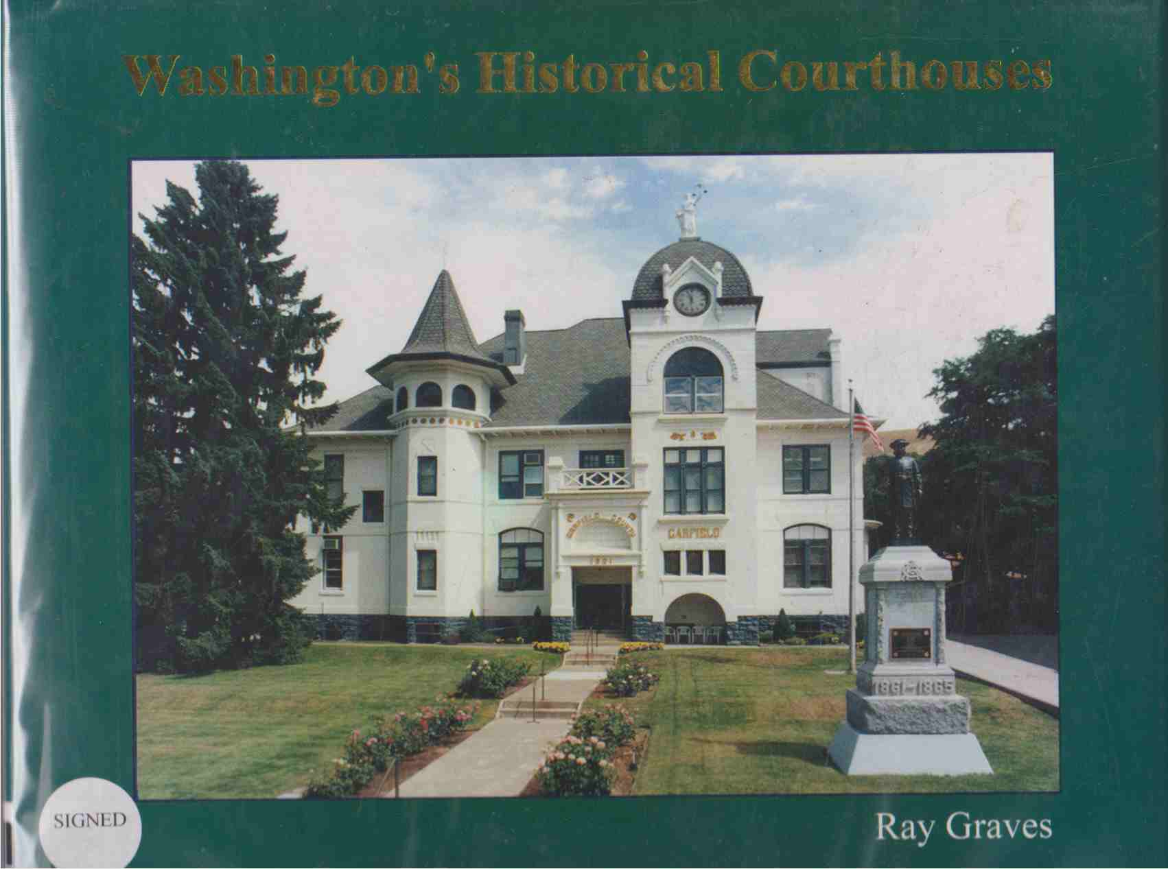 Image for WASHINGTON'S HISTORICAL COURTHOUSES