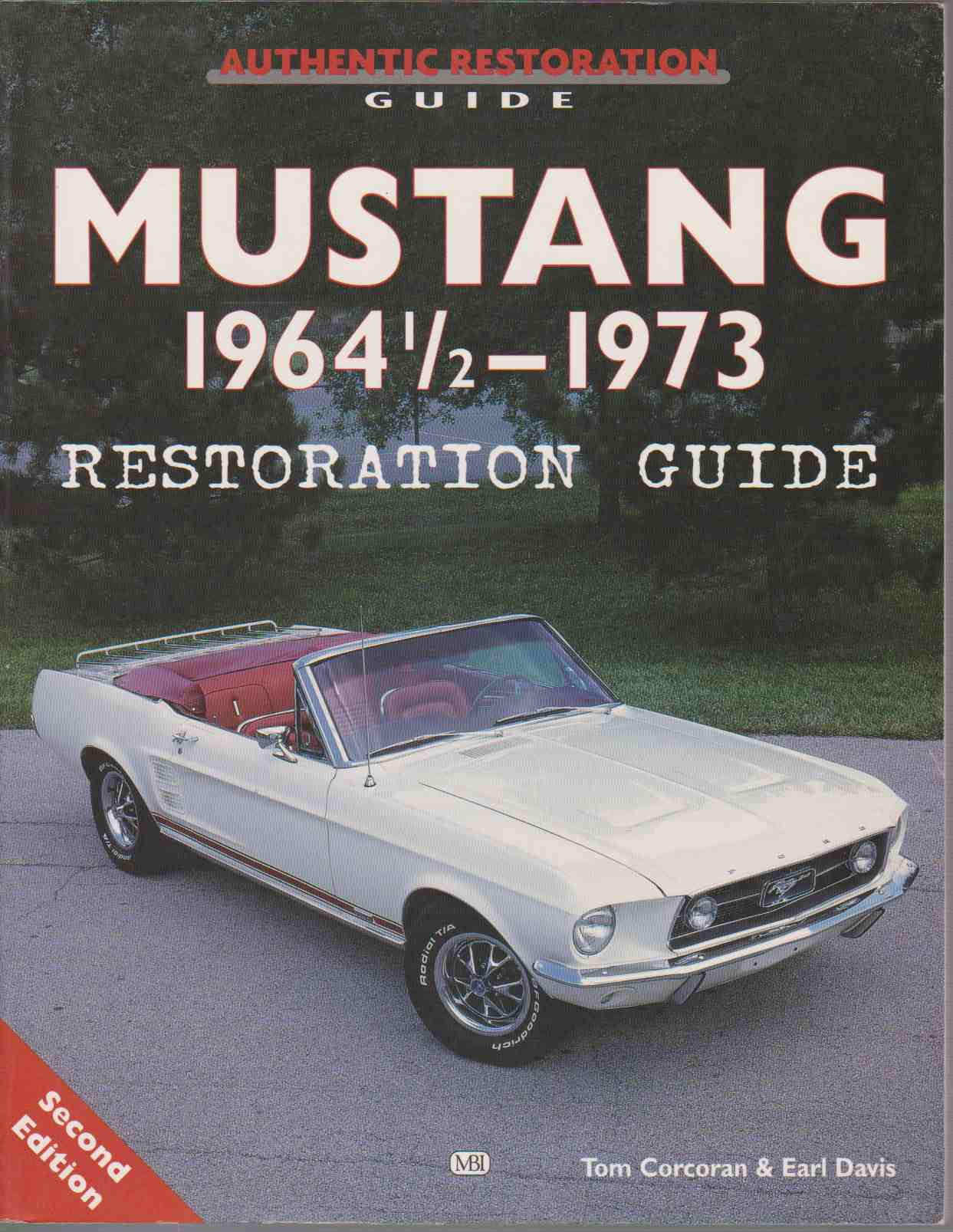 Image for MUSTANG 1964 1/2 - 73 RESTORATION GUIDE